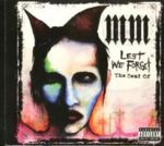 Marilyn Manson - Lest We Forget (The Best Of)  (CD Comp)