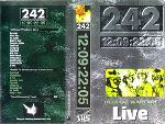 Front 242 - 12:09:22:05 Official Warfare Live  (VHS )