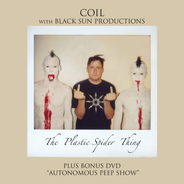 Coil - with Black Sun Productions - The Plastic Spider Thing (CD+DVD)