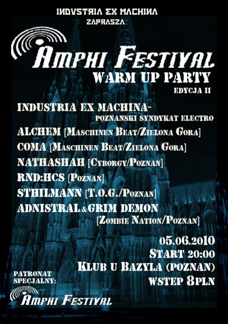 Amphi FestiWarm Up Party - Poznań, U Bazyla