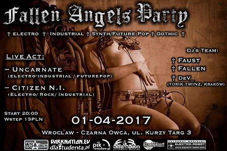 Fallen Angels Party - Live Act - Wroclaw, Pub Czarna Owca