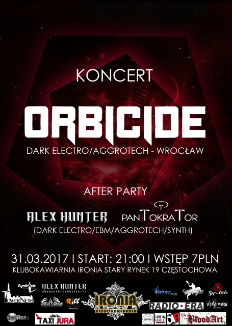 Orbicide + After Party! - Czestochowa, Klubokawiarnia Ironia