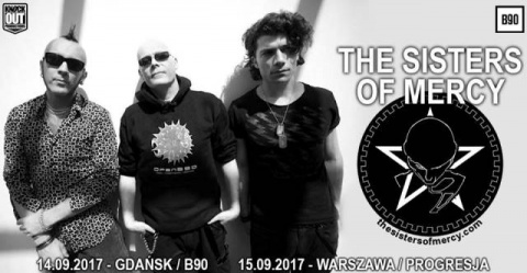 The Sisters Of Mercy + The Membranes  - Gdansk, B90