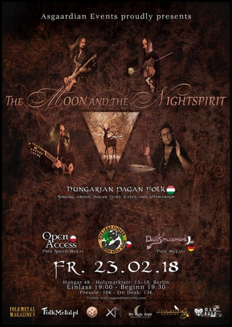 The Moon & The Nightspirit - Berlin, Hangar 49