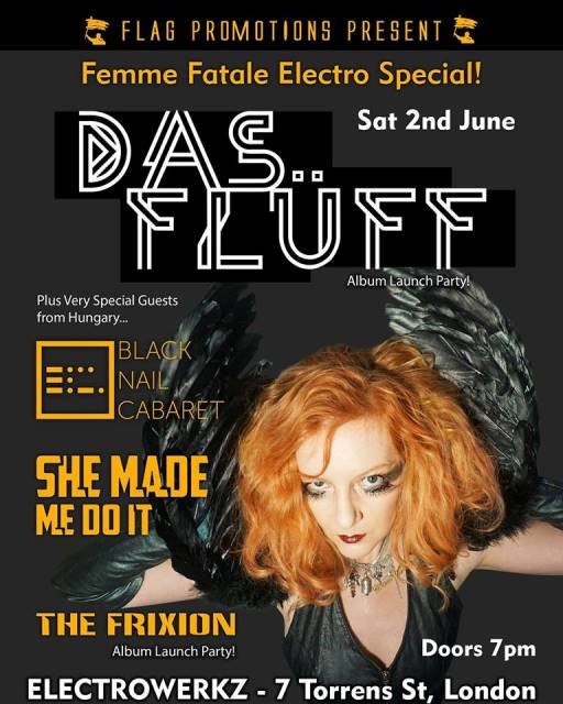 Das Fluff Femme Fatale Electro Special With V Special Guests! - London, Electrowerkz