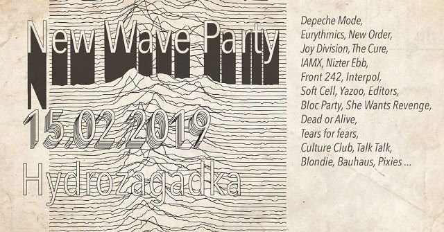 New Wave Party I - Warszawa, Hydrozagadka