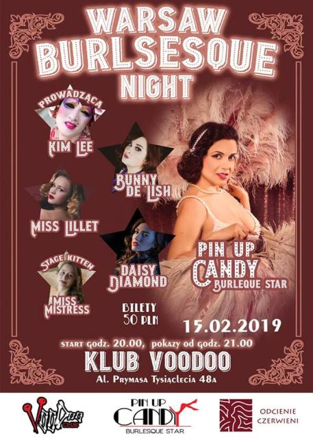 Warsaw Burlesque Night - Valentine's Day - Warszawa, Voodoo Club