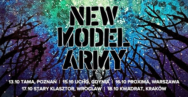 New Model Army Official Even - Gdynia, Ucho