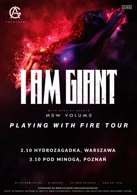 I Am Giant - Playing With Fire Tour