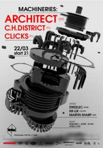 Machineries: Architect + C.H. District + Clicks