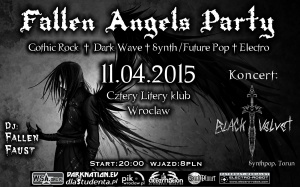 Fallen Angels Party & Black Velvet