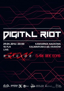 DIGITAL RIOT XXI: Dark Side Eons & Sexy Suicide live