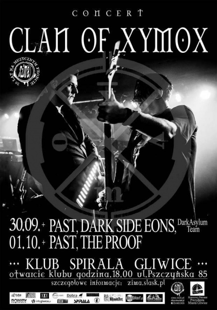 Clan Of Xymox, Past, Dark Side Eons / Days Of Black Tour